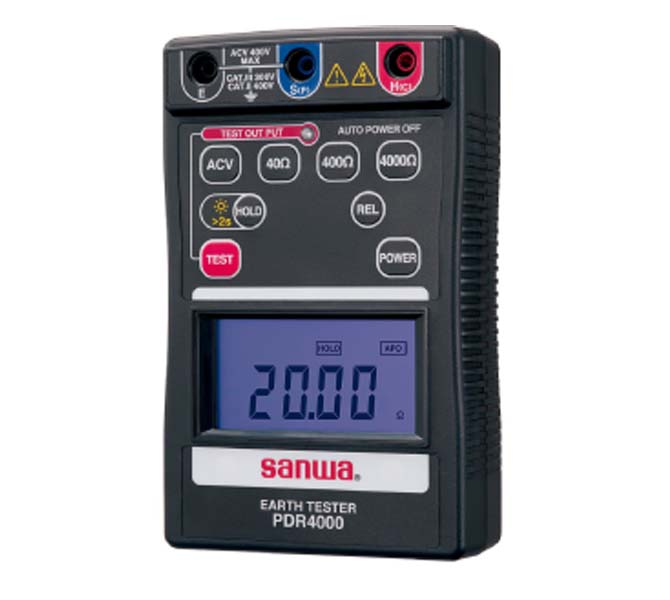DIGITAL EARTH TESTER DIGITAL TYPE - PDR-4000-T