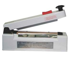 IMPULSE HAND SEALER WITH CUTTER & BEEPER 10MM - ME-2010HC