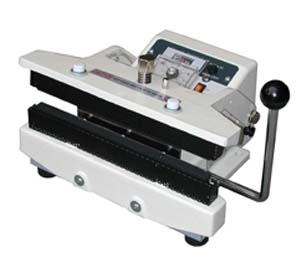 HEAVY-DUTY MANUAL HEAT SEALER FOR ALUMINUM FOIL COATED BAGS/GUSSET BAGS - ME-300CFH