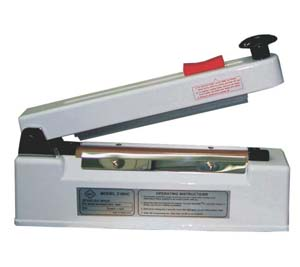 IMPULSE HAND SEALER WITH CUTTER & BEEPER 10MM - ME 3010HCS