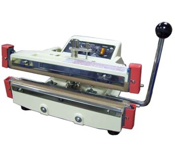 MANUAL BI-ACTIVE IMPULSE SEALER FOR PLASTIC LINED FOIL AND GASSET BAGS 10MM - ME-2010FH
