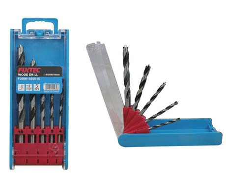WOOD DRILL BITS SET - FDBW105001K