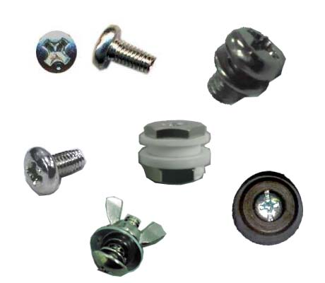 POLY.SEALERS PARTS - SCREW AND NUTS