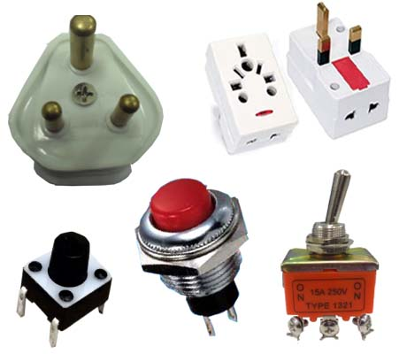 SWITCHES & PLUGS