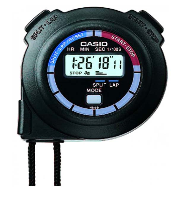 CASIO STOP WATCH - HS-3V/HS-3-1S