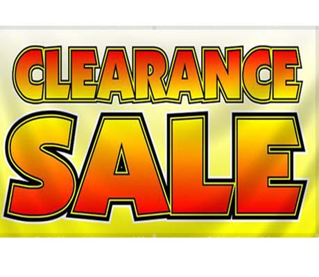 CLEARANCE SALE .....!!!!!!!!!!!!