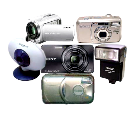 Camera Equipments/Multi Media Projector