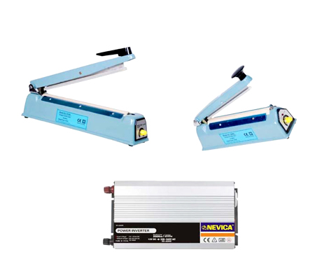 POWER INVERTER & HAND SEALERS