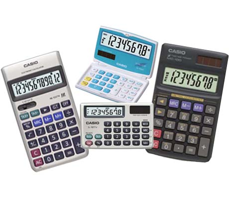 Pocket Calculators