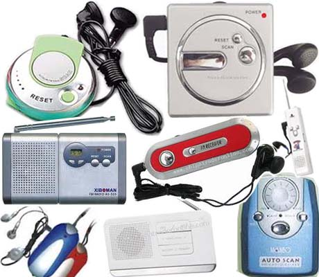 Radios, Walkman & Voice Recorders