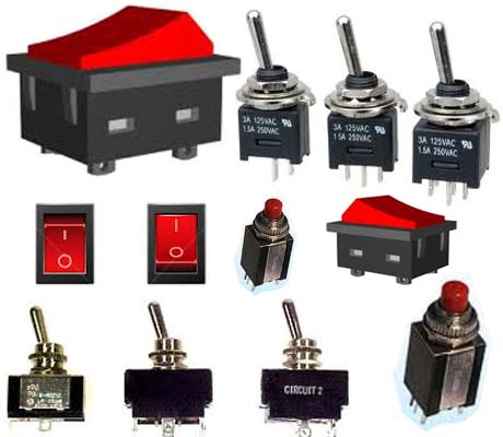 Switches,Plugs & Relays