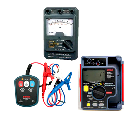 Voltage Detector & Earth Tester